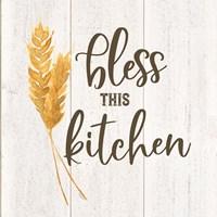 Farm Life I Bless This Kitchen Fine Art Print