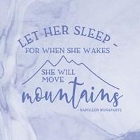 Girl Inspired- Move Mountains Fine Art Print