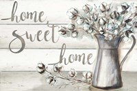 Farmhouse Cotton Home Sweet Home Fine Art Print