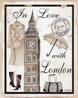 In Love With London Fine Art Print