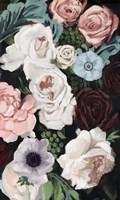 Floral Nocturne I Framed Print