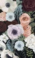 Floral Nocturne II Framed Print