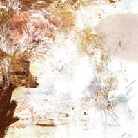 Blush & Umber I Framed Print