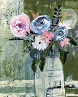 Modern Floral Circle Fine Art Print