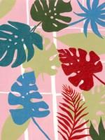 Colorful Tropics I Framed Print
