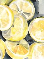 Lemon Slices I Framed Print