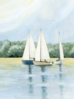 Afternoon Sail I Framed Print