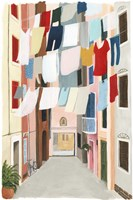 Laundry Day II Fine Art Print