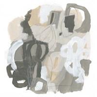 Neutral Cartography I Framed Print