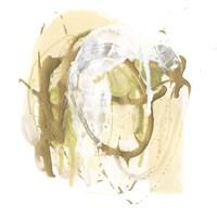 Moss Gold I Framed Print