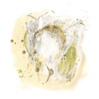 Moss Gold III Framed Print