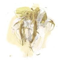 Moss Gold IV Framed Print