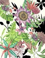 Floral Paradise I Framed Print