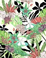Floral Paradise II Framed Print