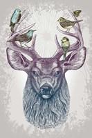 Magic Buck Fine Art Print