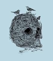 Skull Nest Fine Art Print