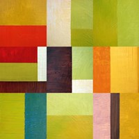 Color Study Abstract 2 Fine Art Print