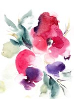 Summer Notes in Pink Fine Art Print