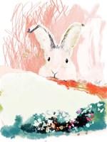Bunny in the Garden Fine Art Print