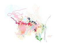 Delicate Florals Fine Art Print