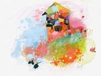 Happy House Fine Art Print