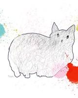 Kitty in Repose Fine Art Print