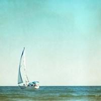 I'm Sailing Away Fine Art Print