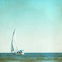 I'm Sailing Away Fine Art Print