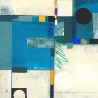 Calypso Blue I Fine Art Print