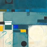 Calypso Blue III Fine Art Print