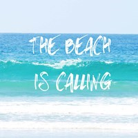 Beach Is Calling Fine Art Print
