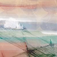 Crimson Sunset No. 1 Fine Art Print