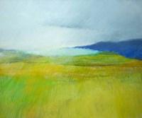 Landscape with Blue Fine Art Print