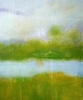Purple and Green Landscape Fine Art Print