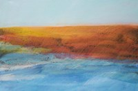 Sea and Red Land Fine Art Print