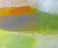 Yellow Mountain Fine Art Print