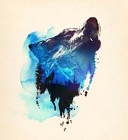 Alone As a Wolf Fine Art Print