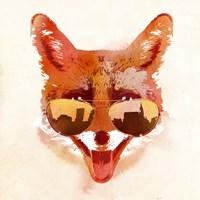 Big Town Fox Fine Art Print