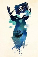 Captain Hook Fine Art Print