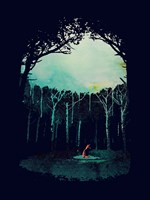 Deep In The Forest Fine Art Print