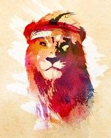 Gym Lion Fine Art Print
