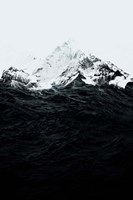 Those Waves Were Like Mountains Fine Art Print