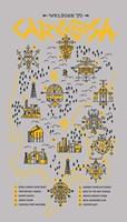 True Detective Map Fine Art Print