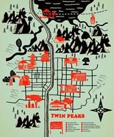 Welcome to Twinpeaks Fine Art Print