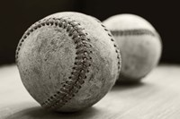 Old Baseballs Fine Art Print