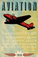 Aviation Recipe Fine Art Print