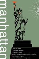 Manhattan Recipe Fine Art Print