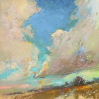 Clouds Got in My Way Fine Art Print