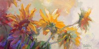Three Long Blossoms Fine Art Print