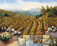 Vineyards to Mount St. Helena Fine Art Print